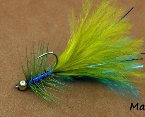 Fly-Tying-a-Blue-Flash-Damsel-Lure-by-Mak