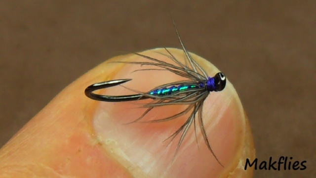 Fly-Tying-a-Soft-Hackle-North-Country-Spider-Variation-by-Mak