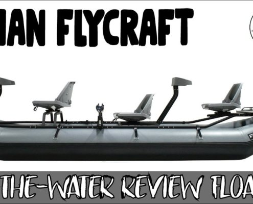 Flycraft-3-Person-Boat-On-Water-Review-PROVO-RIVER