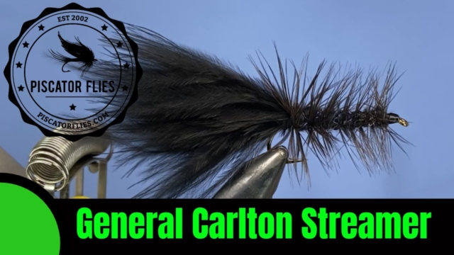 Tying-a-General-Carlton-Streamer-Woolly-Bugger-Fly-Fishing-Variation