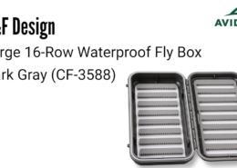 CF-Design-Large-16-Row-Waterproof-Fly-Box-Dark-Gray-CF-3588-Review-AvidMax