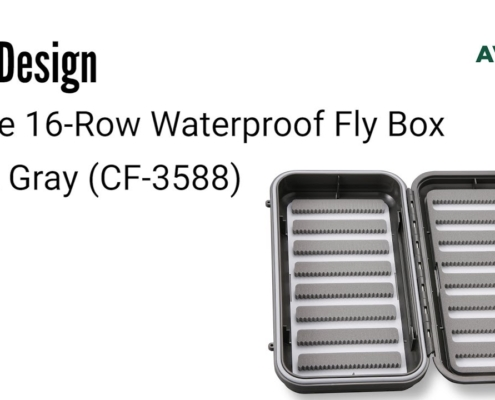 CF-Design-Large-16-Row-Waterproof-Fly-Box-Dark-Gray-CF-3588-Review-AvidMax