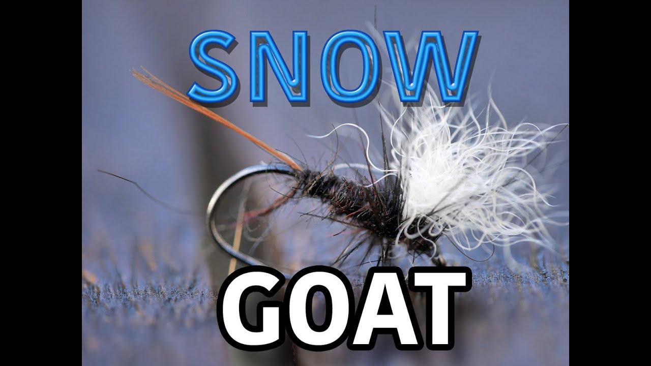How-to-tie-the-Snow-Goat-a-high-floating-dry-fly-for-Fly-Fishing