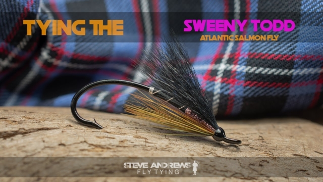Tying-The-Sweeny-Todd-Atlantic-Salmon-Fly-with-Steve-Andrews