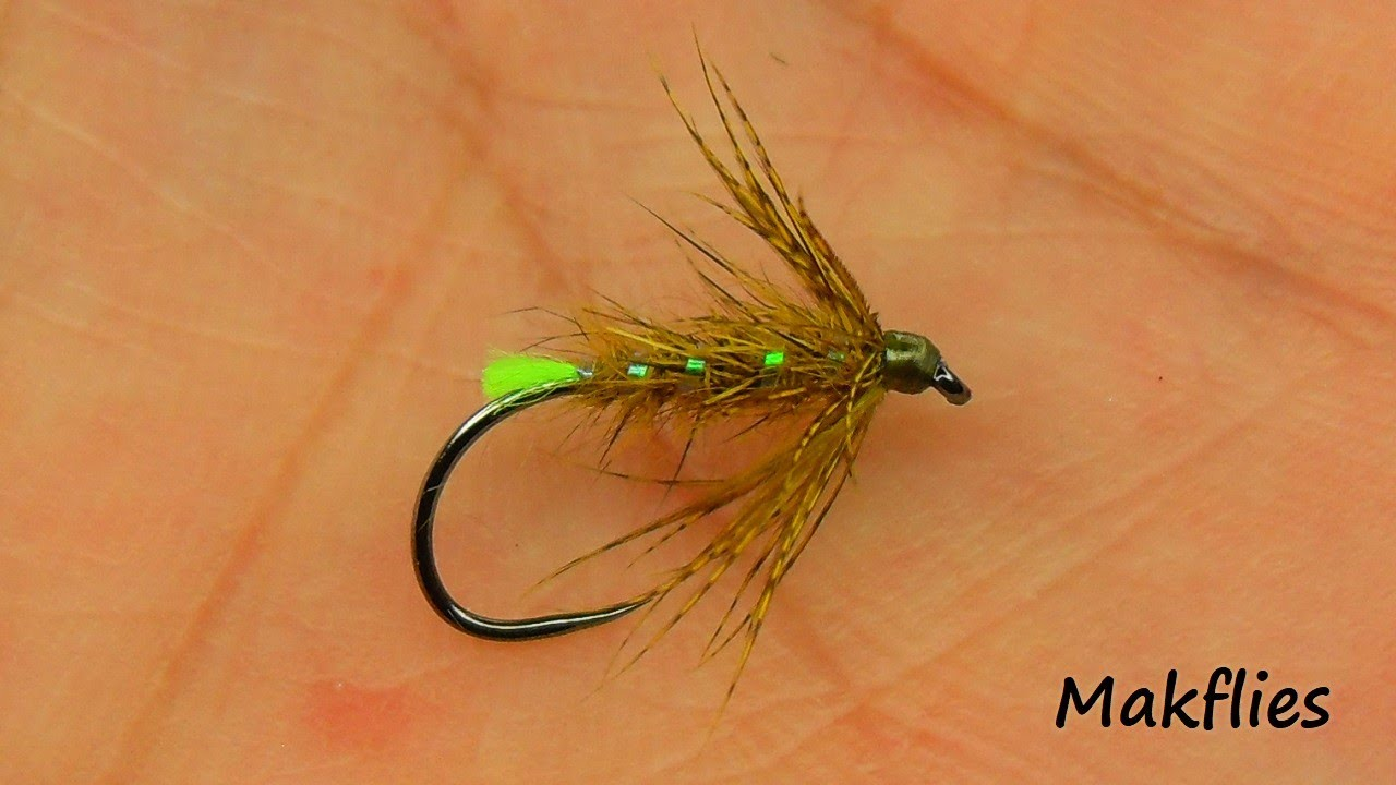 Fly-Tying-an-Olive-Hare39s-Ear-Emerger-by-Mak