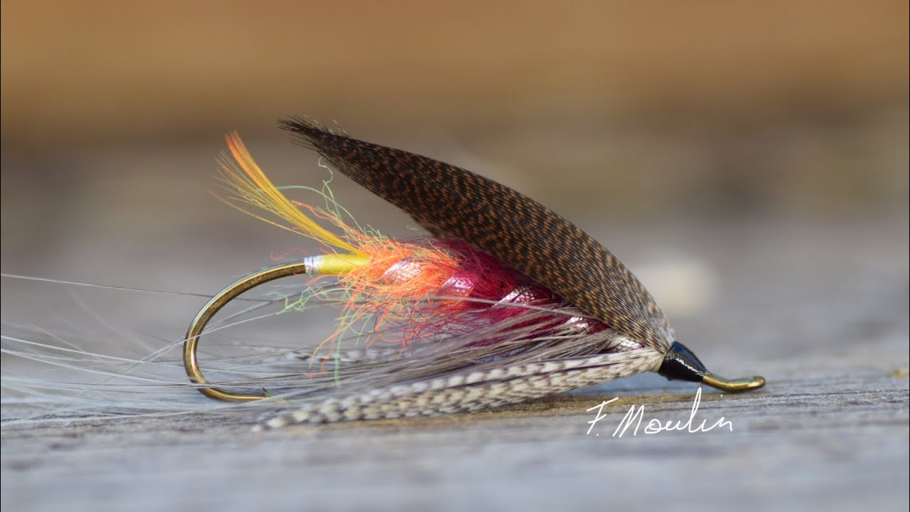 Fly-tying-a-Glentana-salmon-Spey-fly-from-the-book-Erling-Olsen
