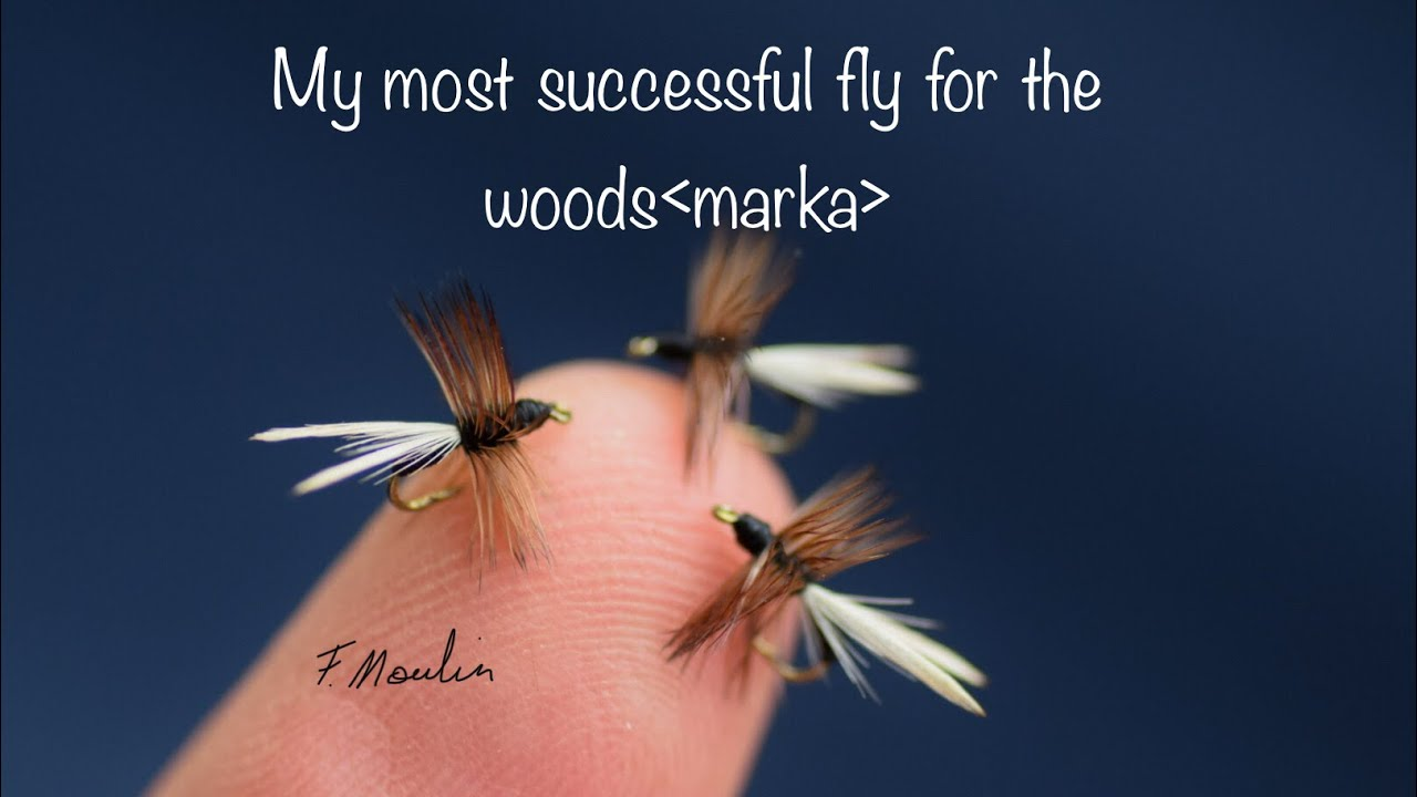 Fly-tying-a-successful-and-simple-dry-fly-Ant-serie-marka-fluer-maur-with-Fabien-Moulin