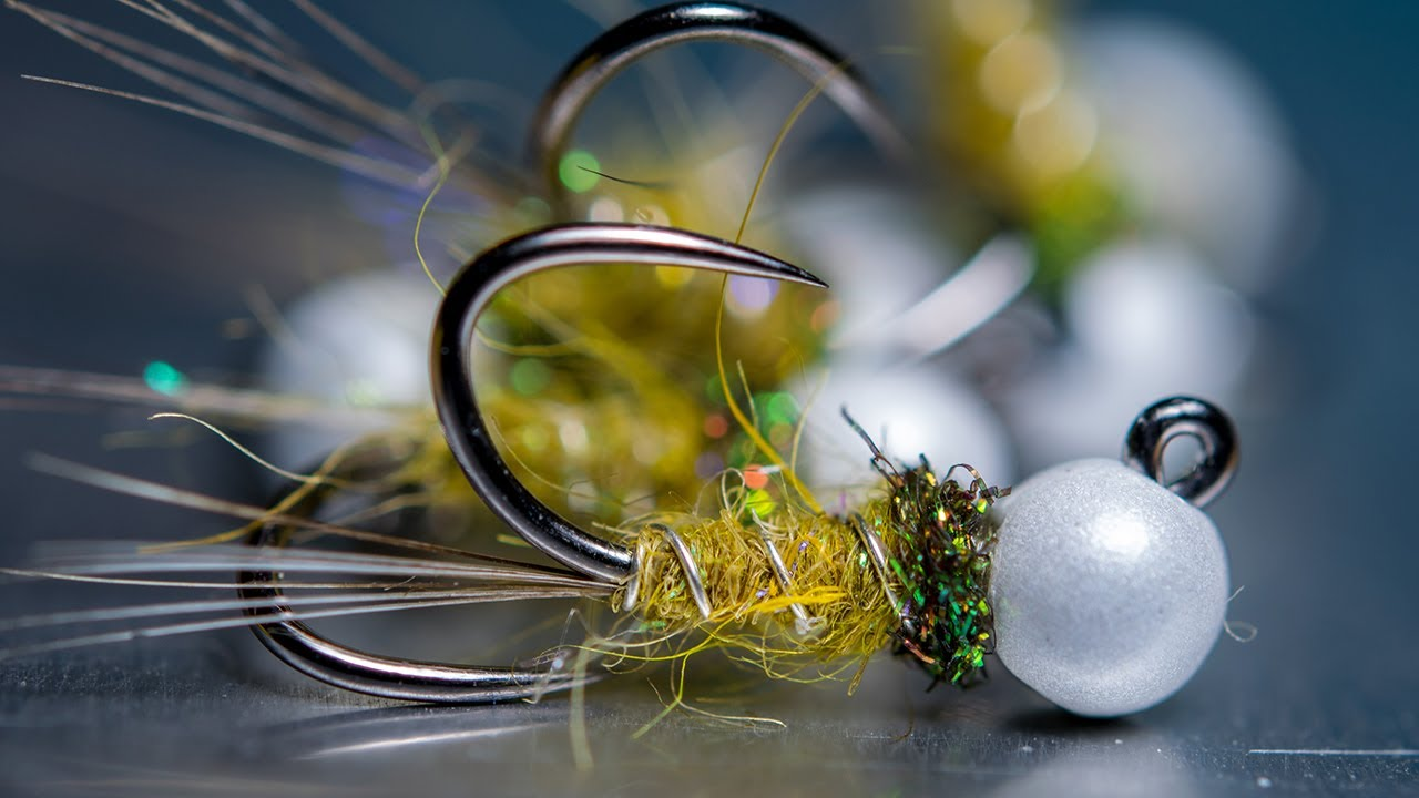 Tying-a-Pearl-Olive-Nymph