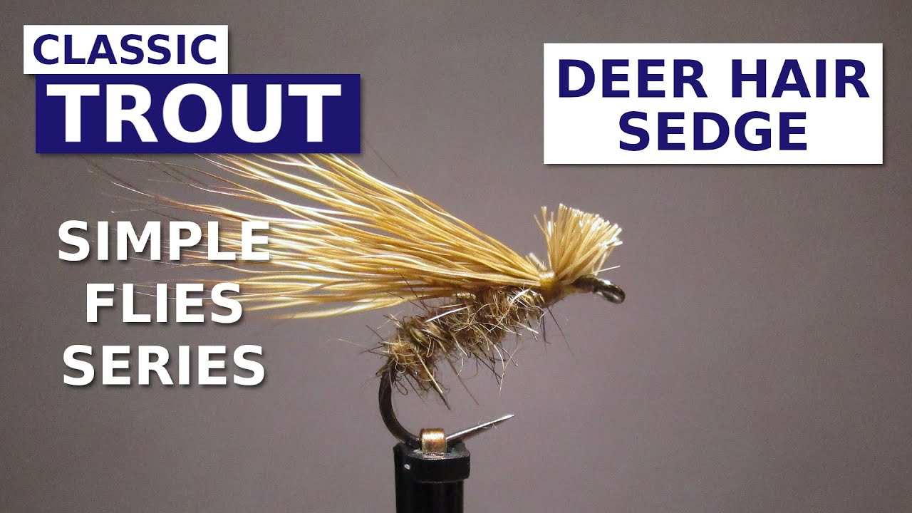 Fly-Tying-a-Deer-Hair-Sedge-Simple-Flies-Series