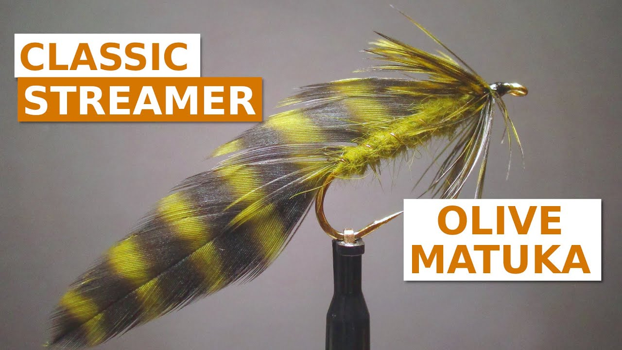 Fly-Tying-an-Olive-Matuka-Streamer-Fly-Pattern