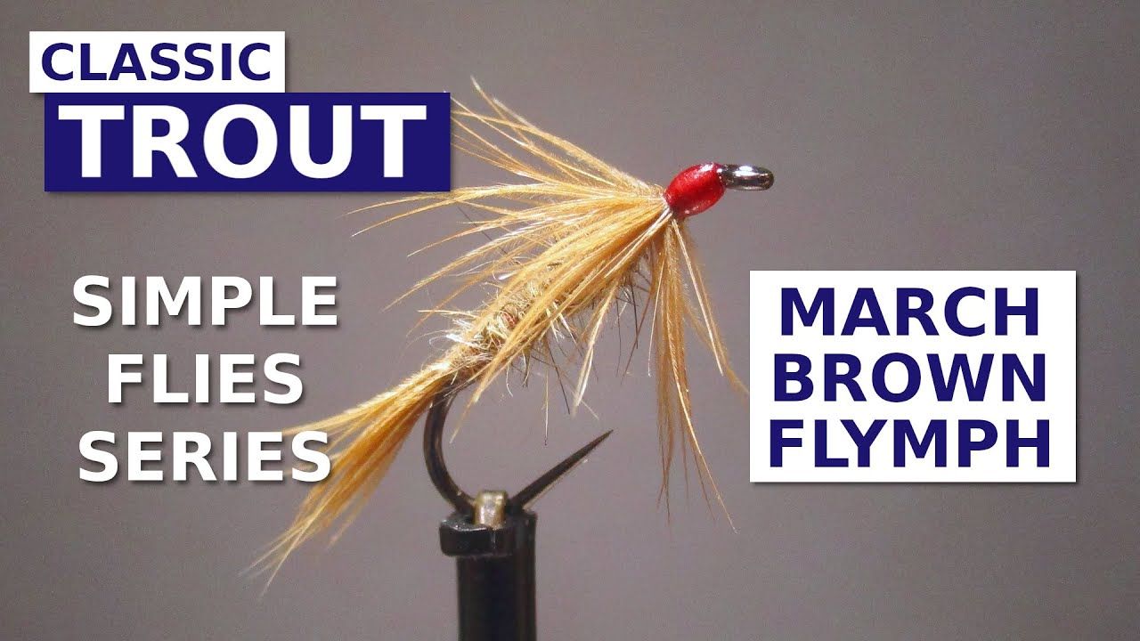 Fly-Tying-the-March-Brown-Flymph-Simple-Flies-Series