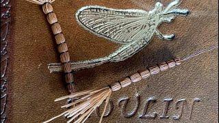 Fly-tying-a-detached-mayfly-body-vulgata-toerrflue-with-Fabien-Moulin
