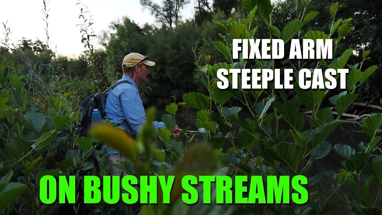 How-to-use-the-raised-fixed-arm-steeple-cast-in-heavy-bush