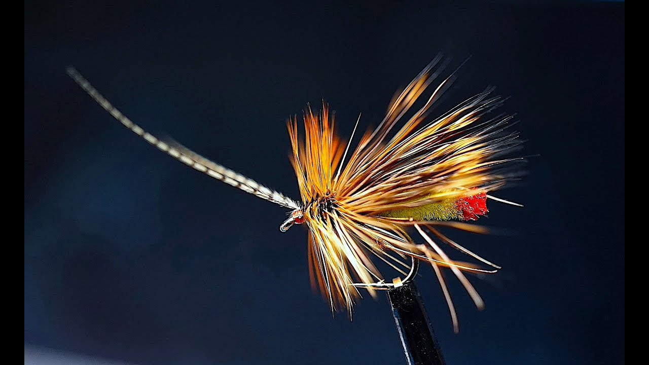 Tying-a-Green-Peter-Detached-Bodied-Dry-Fly-with-Davie-McPhail