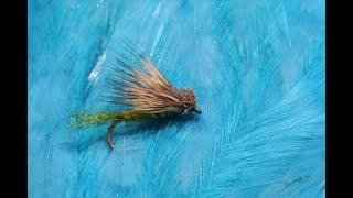 Tying-an-Olive-X-Caddis-with-Martyn-White