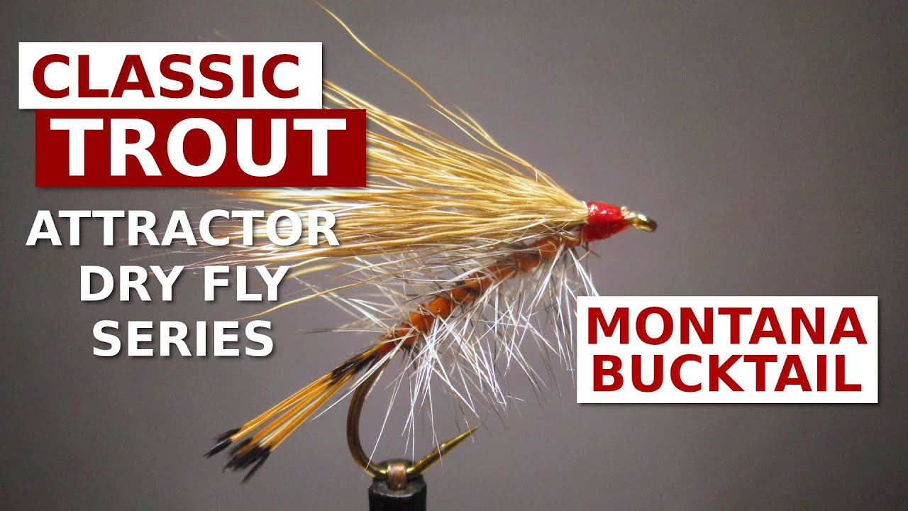 Fly-Tying-a-Montana-Bucktail-Classic-Attractor-Dry-Fly-Pattern