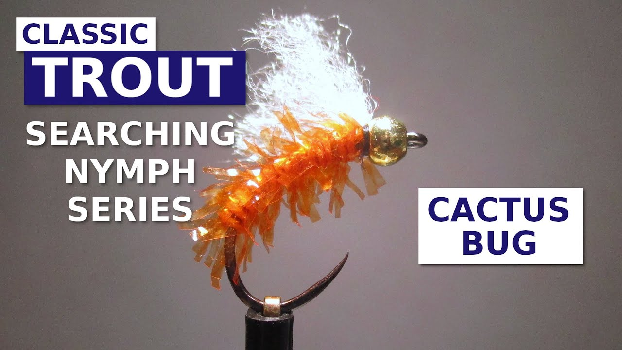 Fly-Tying-the-Cactus-Bug-Simple-Searching-Nymph-Pattern