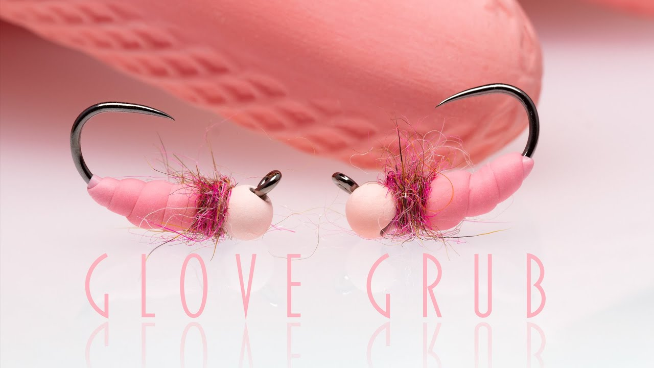 Glove-Grub-Fly-tying-a-grayling-grub-from-a-rubber-glove-in-3-minutes