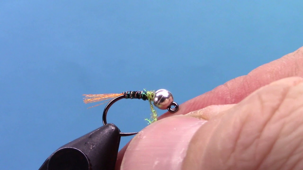 Laser-Tag-Jig-Nymph-Fly-Tying-Video