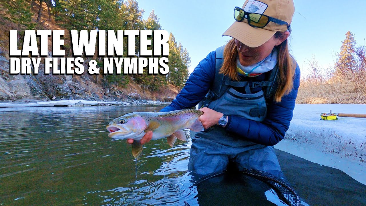 Late-Winter-Nymphing-TACTICS-amp-Dry-Fly-Fishing-Nymphing-amp-Dry-Fly-Fishing-Fly-Fish-Alberta