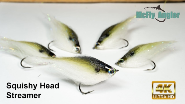 Squishy-Head-Streamer-Green-Shad-McFly-Angler-Fly-Tying-Sessions