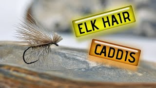 Fly-Tying-How-to-tie-a-variation-of-the-Elk-Hair-Caddis-for-Dry-Fly-Fishing