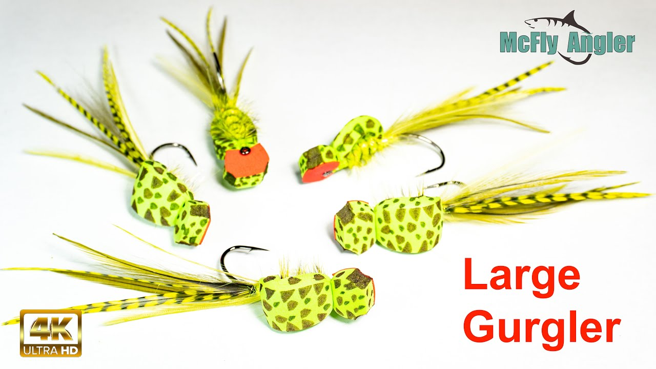 Large-Gurgler-Fly-Top-water-bass-or-saltwater-fly-McFly-Angler-Fly-Tying-Sessions