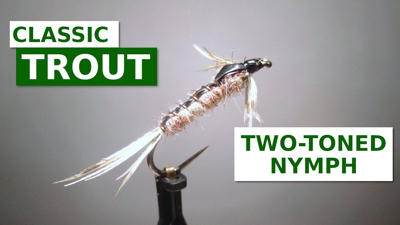 Fly-Tying-a-Two-Toned-Nymph-All-Purpose-Mayfly-Nymph-Pattern