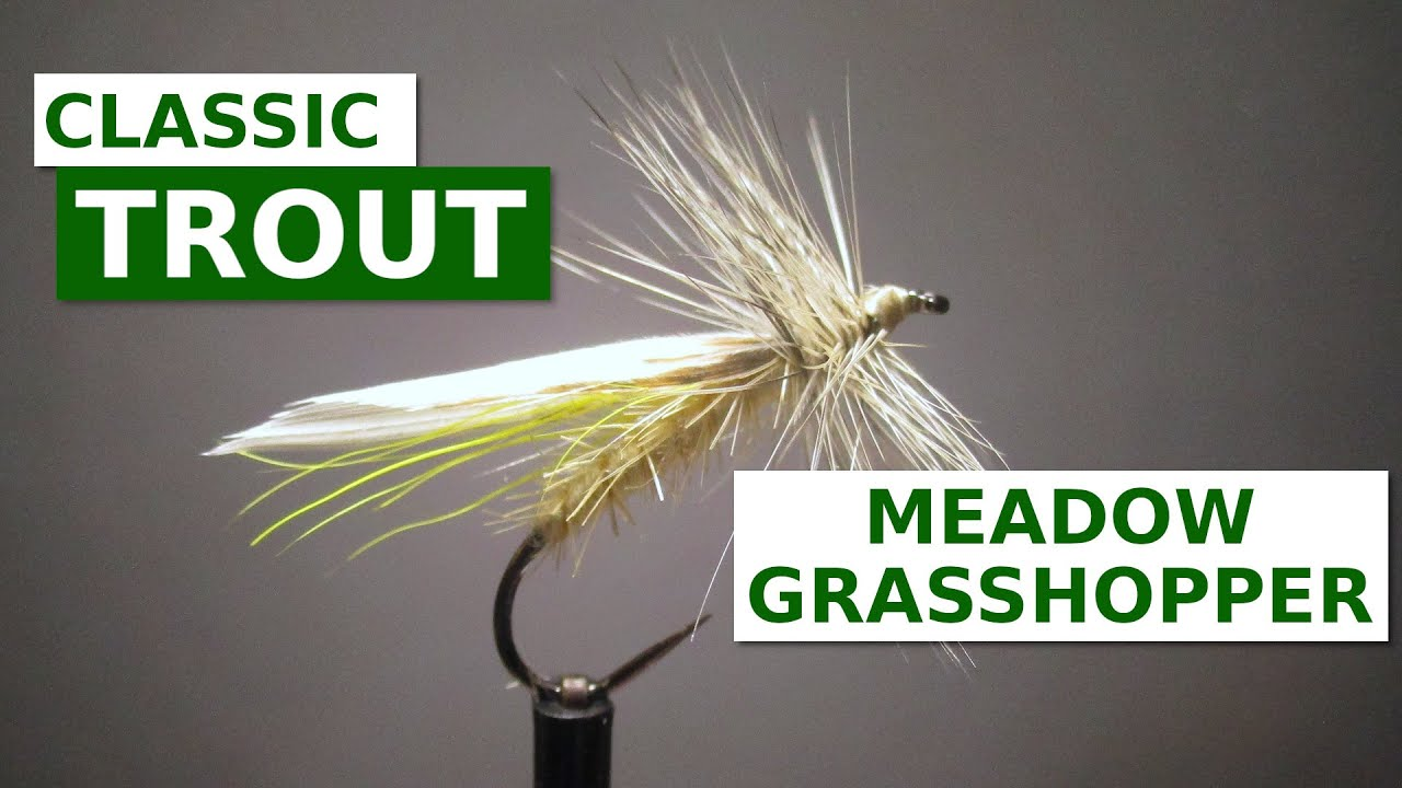 Fly-Tying-the-Meadow-Grasshopper-Polly-Rosborough-Terrestrial-Pattern