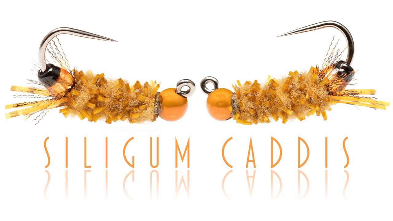 Siligum-Caddis-Fly-tying-and-fishing-a-cased-caddis-imitation
