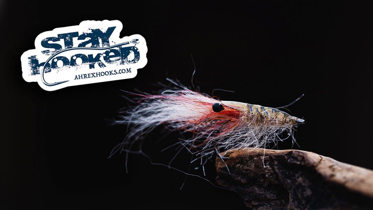 Ahrex-FLYTYING-Sand-SHRIMP-Tied-by-Svenja-Bossen-TUTORIAL