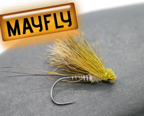Fly-Tying-How-to-tie-the-Mayfly-Dun