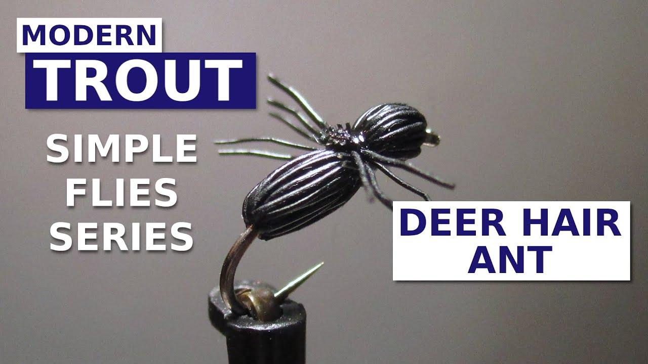 Fly-Tying-a-Deer-Hair-Ant-Simple-Terrestrial-Pattern
