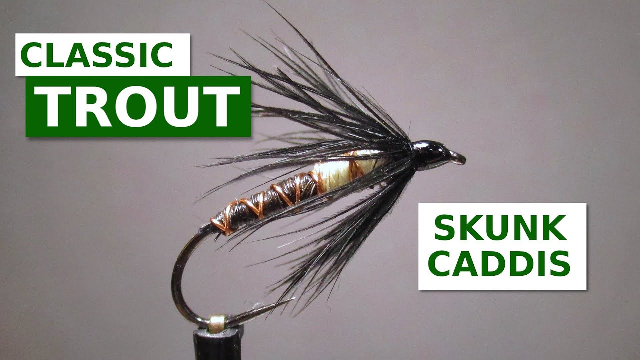 Fly-Tying-a-Skunk-Caddis-Nymph-Fly-Pattern