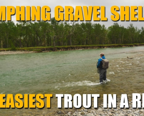 Nymphing-A-Gravel-Shelf-Finding-The-Easiest-Trout-in-a-Trout-River.-Nymph-Fly-Fishing-for-Trout