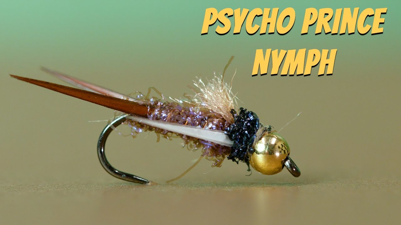 Psycho-Prince-Nymph-Fly-Tying-Tutorial