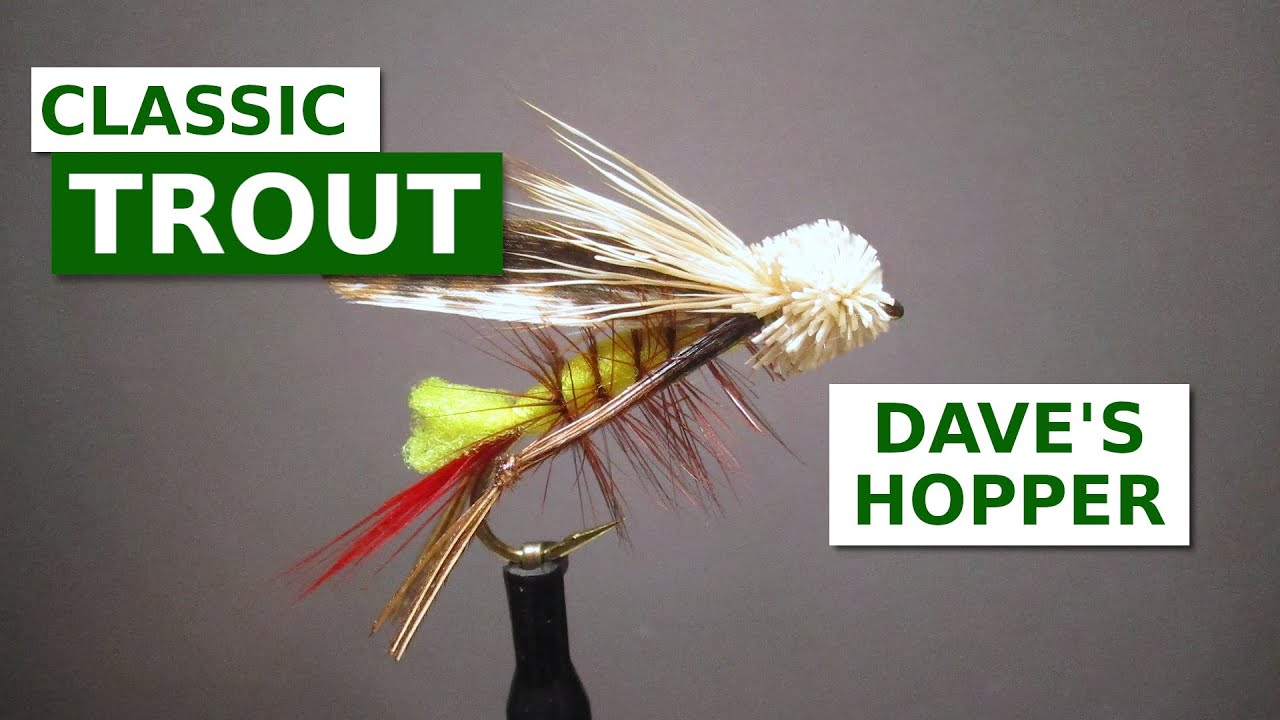Fly-Tying-a-Dave39s-Hopper-Classic-Terrestrial-Pattern
