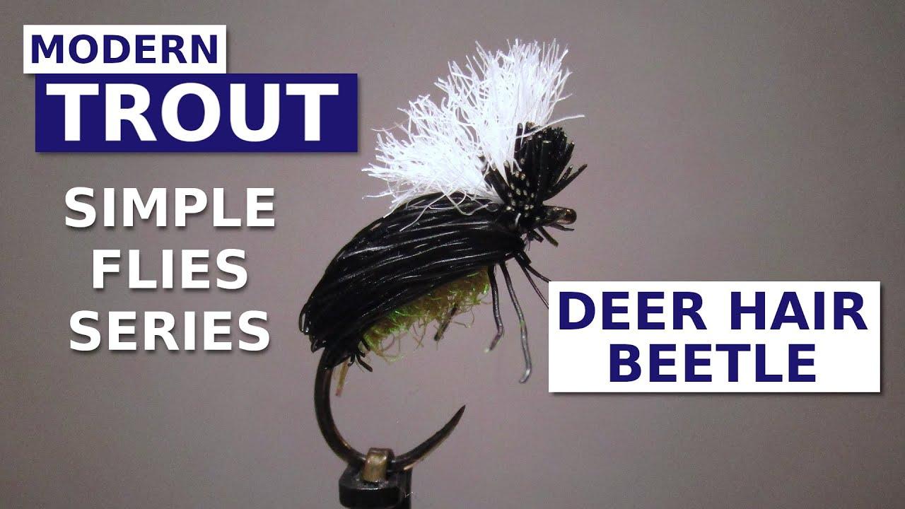 Fly-Tying-a-Deer-Hair-Beetle-Simple-Terrestrial-Pattern