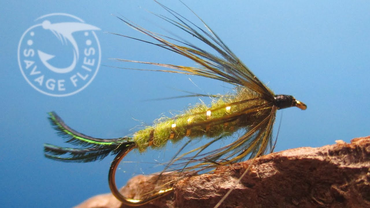 Fly-Tying-a-Green-Damsel-Nymph-Fishing-for-Bigger-Trout