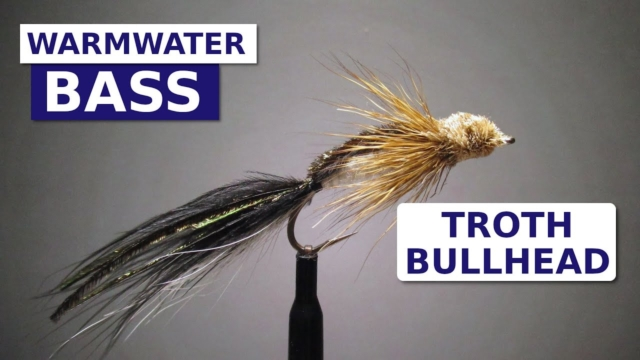 Fly-Tying-the-Troth-Bullhead-Bass-amp-Big-Brown-Trout-Pattern