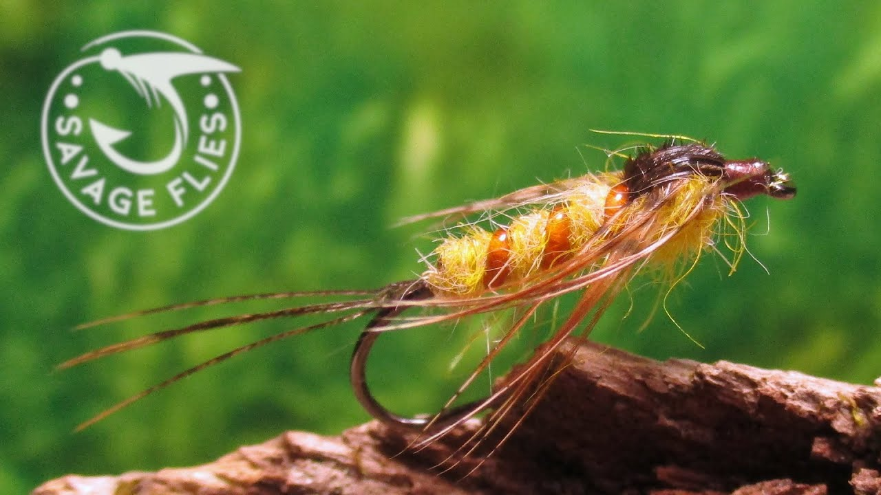 Fly-Tying-Art-Flick39s-March-Brown-Nymph