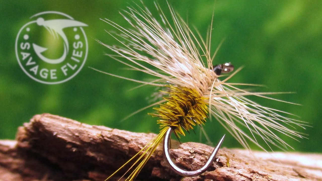 Fly-Tying-a-Yellow-Hammer-Dry-Fly