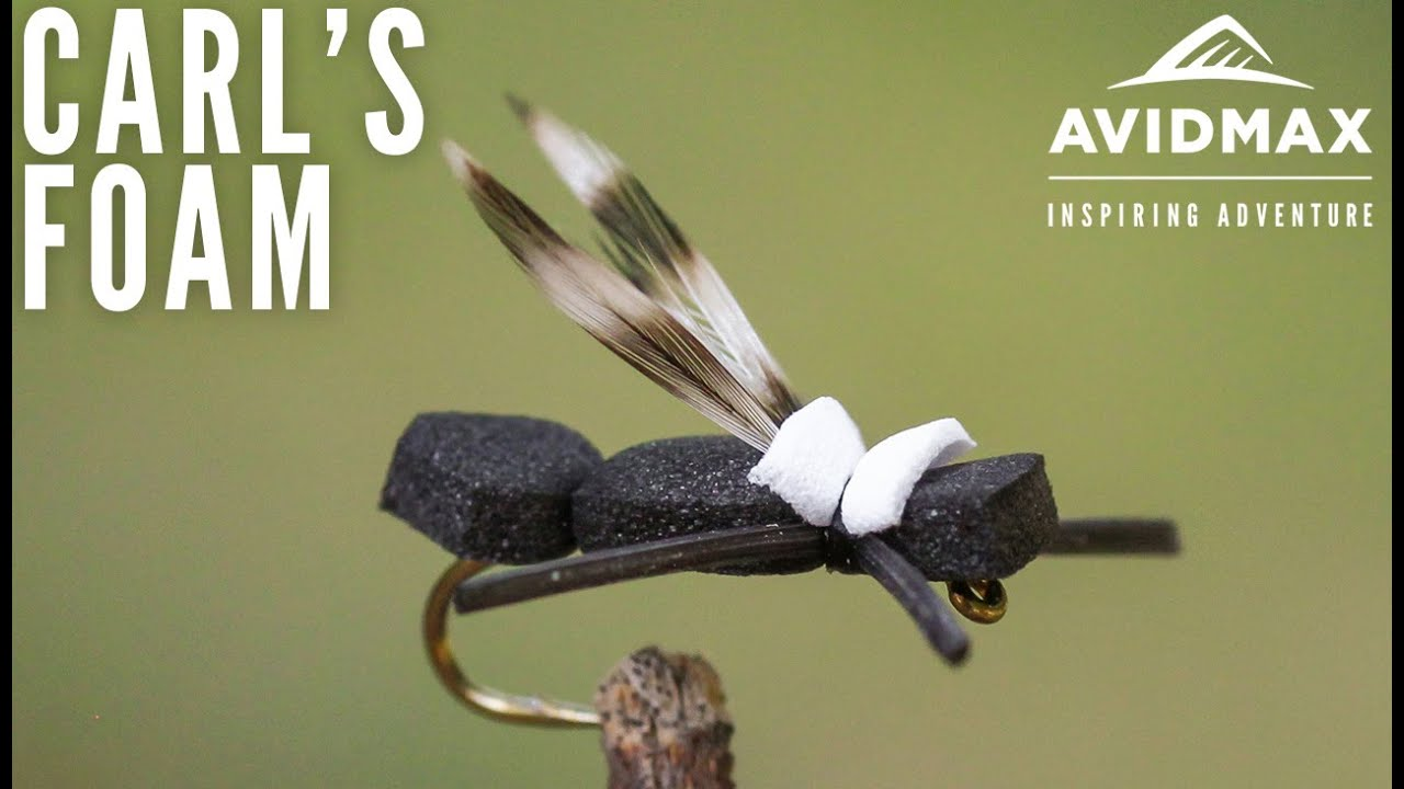 How-to-tie-Carls-Foam-Ant-AvidMax-Fly-Tying-Tuesday-Tutorials