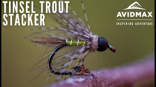 How-to-tie-the-Tinsel-Trout-Stacker-AvidMax-Fly-Tying-Tuesday-Tutorials