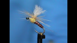 Fly-Tying-a-Biot-Body-Rusty-Sulpher-with-Jim-Misiura