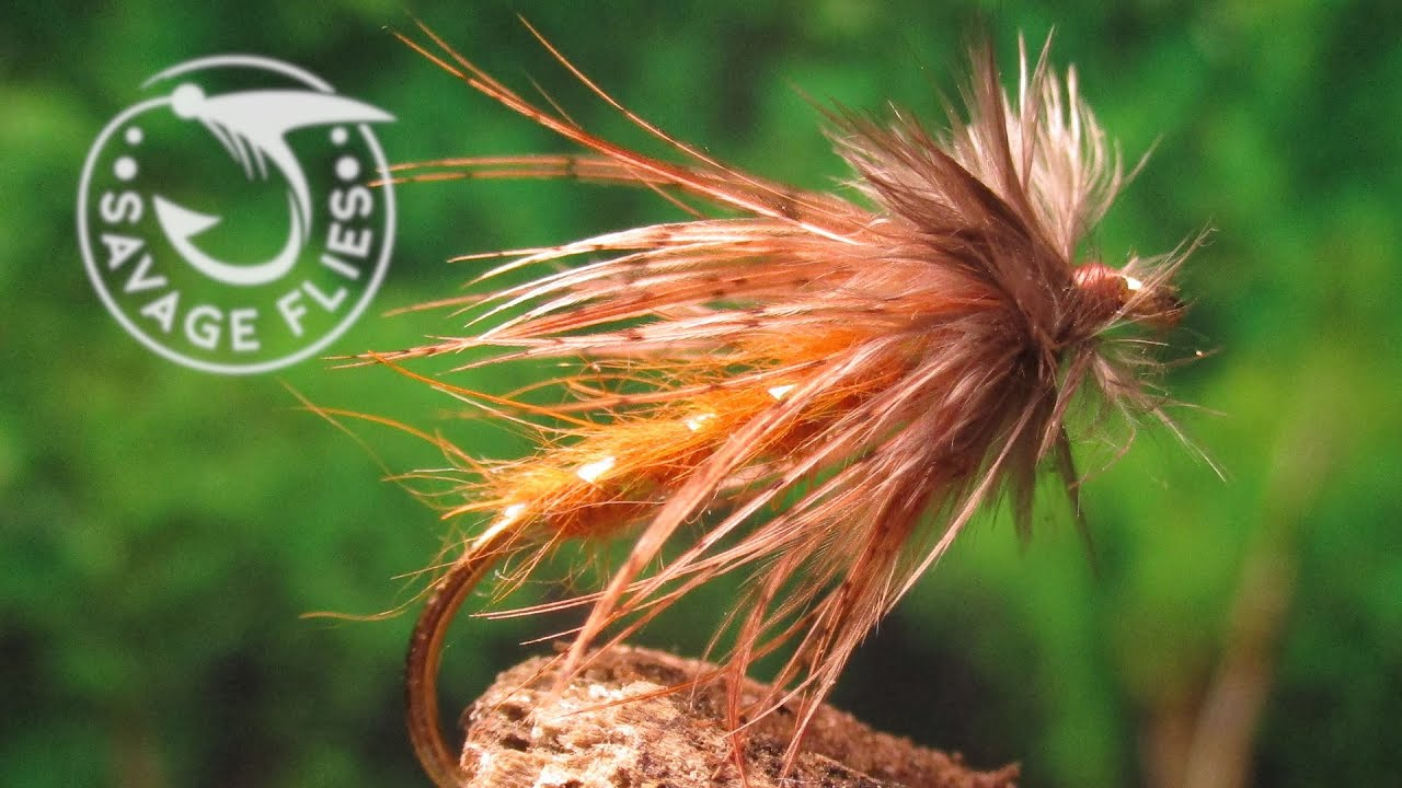 Fly-Tying-an-October-Caddis-Wet-Fly