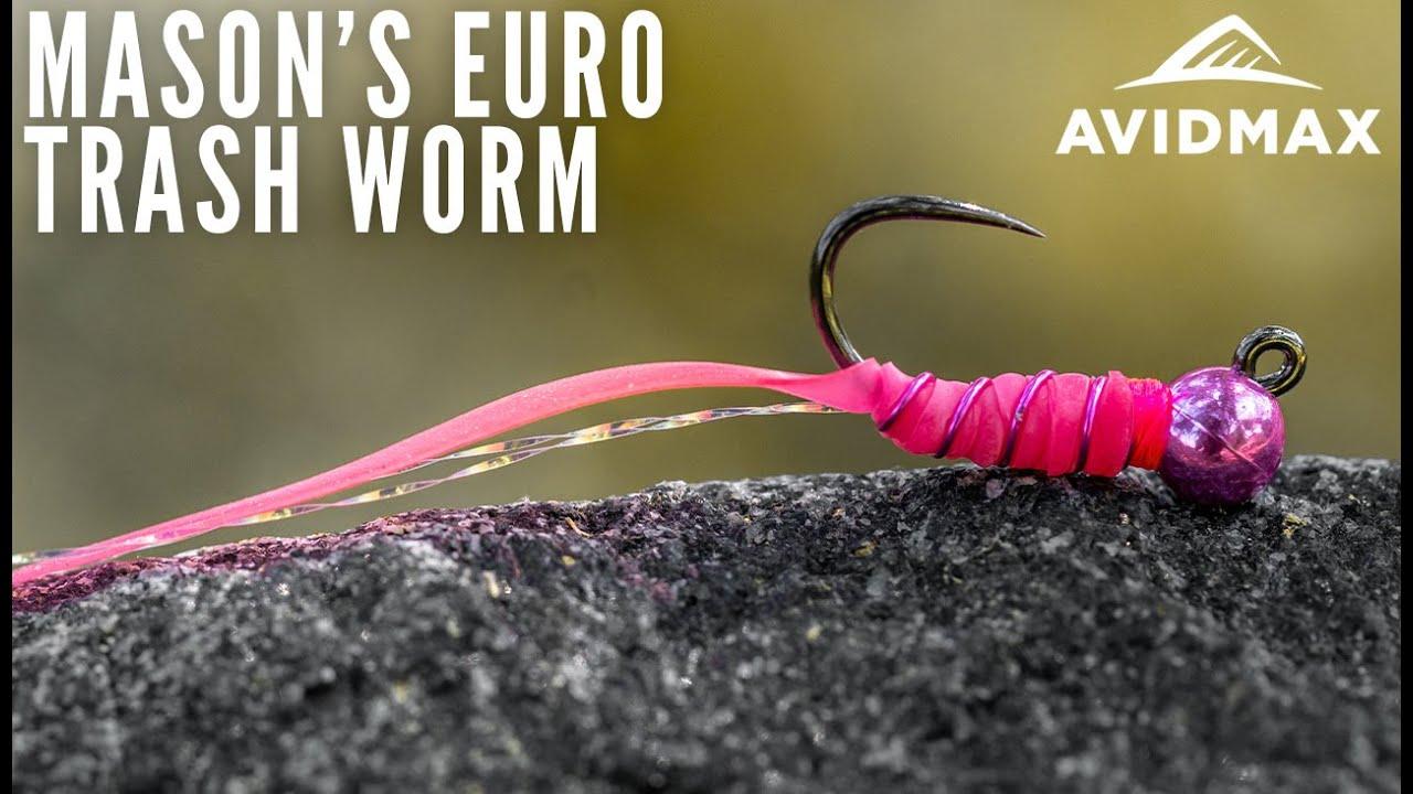 How-to-tie-Masons-Euro-Trash-Worm-AvidMax-Fly-Tying-Tuesday-Tutorials