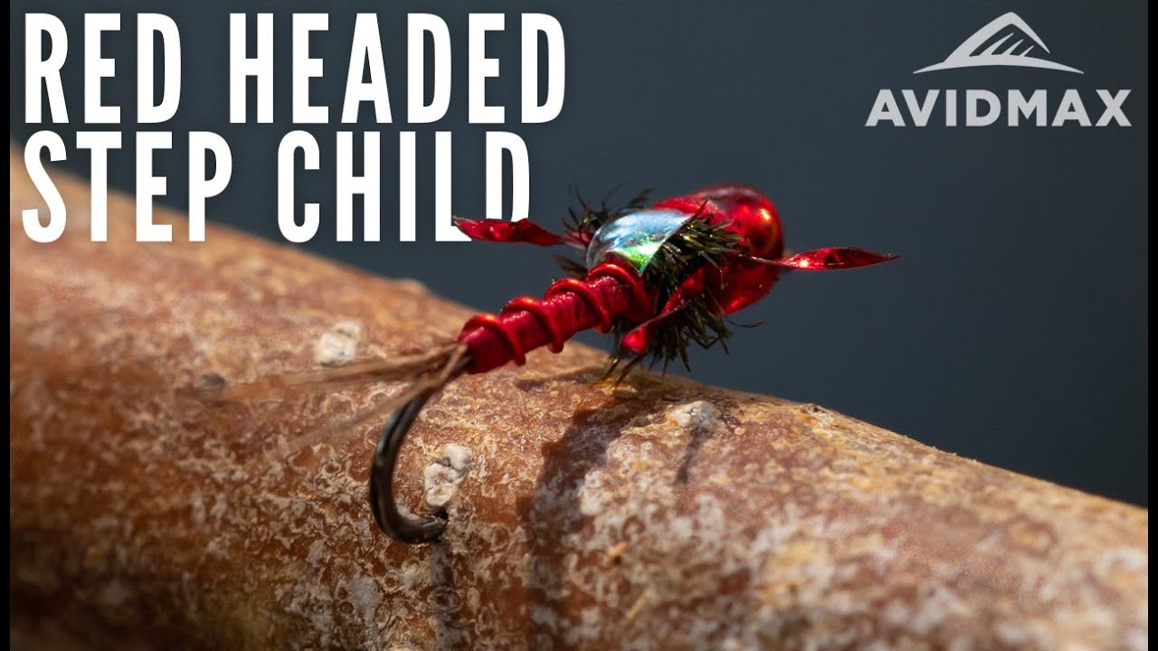How-to-tie-the-Red-Headed-Step-Child-AvidMax-Fly-Tying-Tuesday-Tutorials
