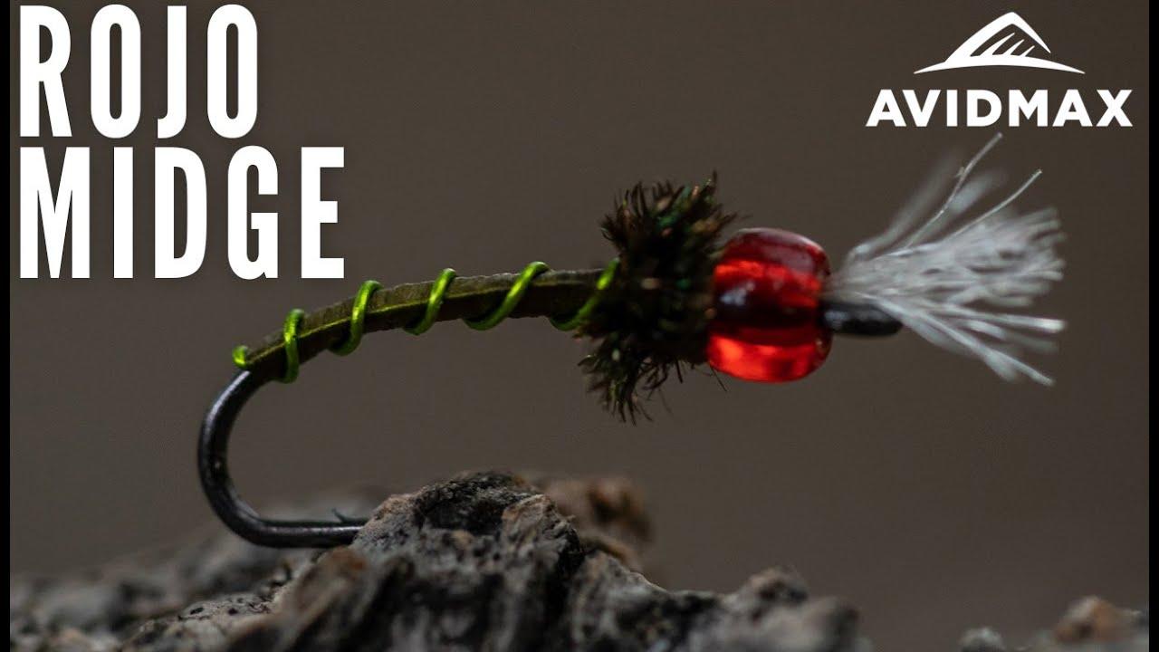 How-to-tie-the-Rojo-Midge-AvidMax-Fly-Tying-Tuesday-Tutorials