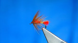 Tying-a-Soldier-Palmer-Wet-Fly-with-Davie-McPhail